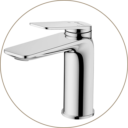 Paris Chrome Basin Mixer